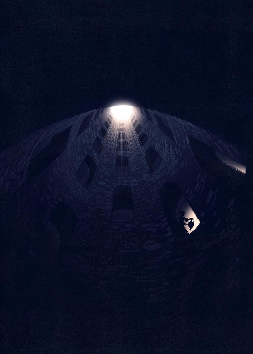 """The Pozzo di San Patrizio """"St. Patrick's Well"""", Orvieto (Umbria)"""