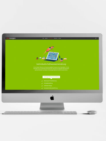 4morgen website illustrations