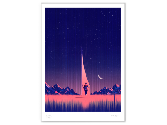 """Limited edition print: """"Volevo solo camminare"""" (I only wanted to Walk)"""