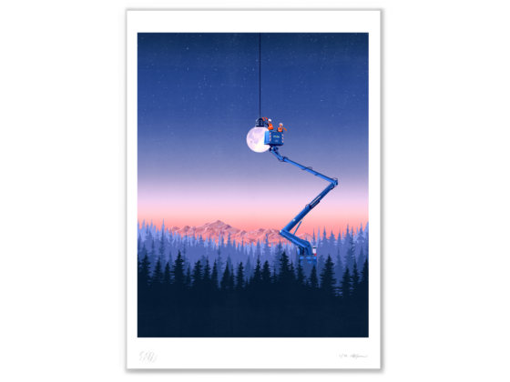 Limited edition print: Pioneers