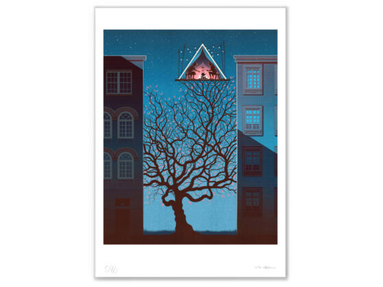 Limited edition print: Nest