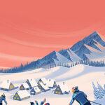 Winter sports in Russia